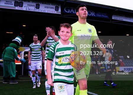 Yeovil Town v Bury, Yeovil, UK - 5 Jan 2018