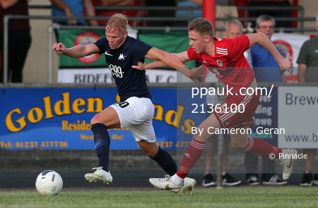 Bideford AFC v Torquay United, Devon, UK - 9 Jul 2019
