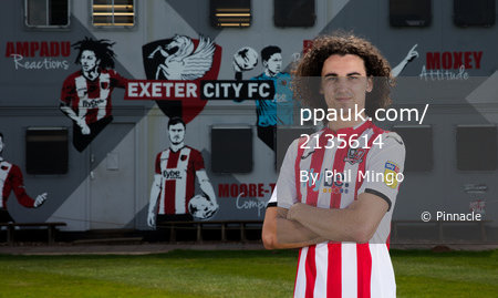 Exeter City Player Signing, Exeter, UK - 8 Jul 2019
