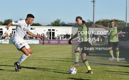 Truro City v Exeter City, Exeter, UK - 5 July 2019