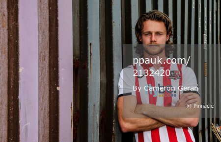 Exeter City Player Signing, Exeter, UK - 24 Jun 2019