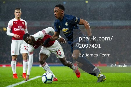 Arsenal V Manchester United, London, UK - 10 Mar 2019.