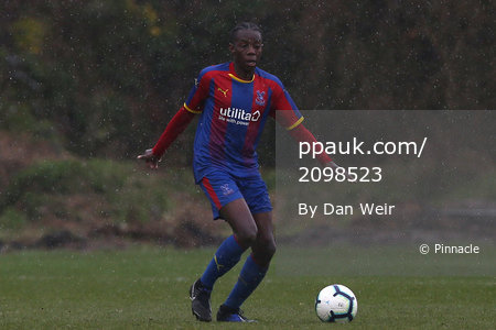 Crystal Palace U18s v Queens Park Rangers U18s, Beckenham - 12 March 2019