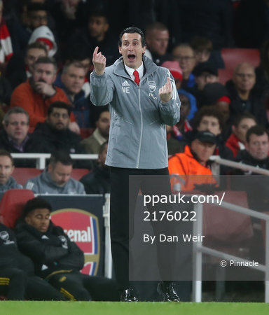 Arsenal v Eintracht Frankfurt, London - 28 November 2019