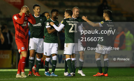 Plymouth Argyle v Leyton Orient, Plymouth, UK - 22 Oct 2019