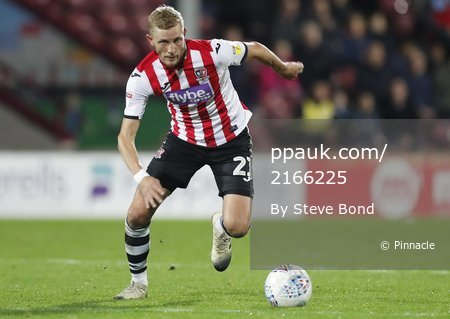 Scunthorpe v Exeter City, Scunthorpe, UK - 22  Oct 2019