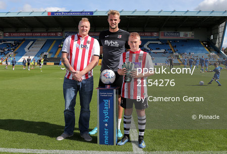 Carlisle United v Exeter City, Carlisle, UK - 7 Sep 2019