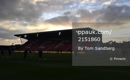 Exeter City v Cheltenham Town, Exeter, UK - 3 Sep 2019