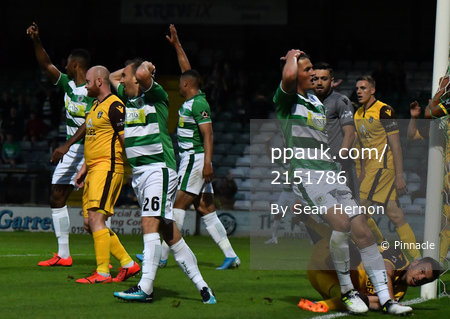 Yeovil Town v Sutton United, Yeovil, UK -3 Sep 2019