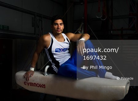 Gymnast, Louis Smith 110612