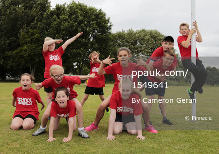 Devon Summer School Games, Plymouth, UK - 22 June 2017