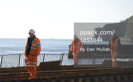 Dawlish Train Line Damage 070214