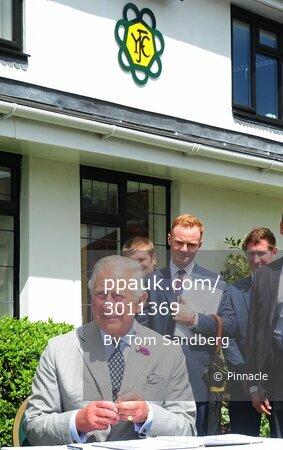 Prince of Wales visit, Cheriton Bishop, UK - 20 July 2017