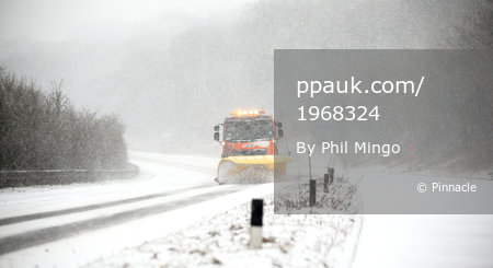 Snow storm Devon, UK - 1 Mar 2018