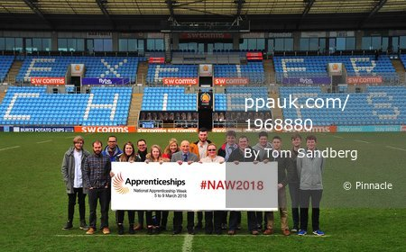 National Apprenticeship Week Photocall, Exeter, UK - 5 Mar 2018