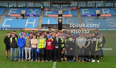 National Apprenticeship Week Photocall, Exeter, UK - 5 Mar 2018