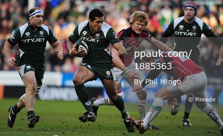 London Irish v Saracens 271209