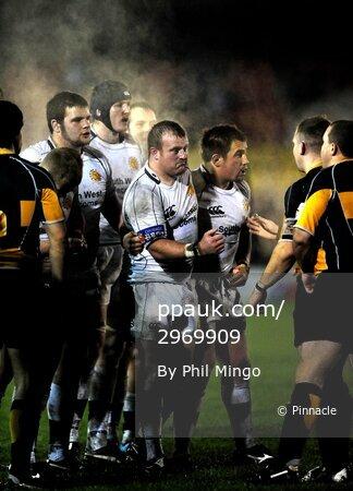 Newport v Exeter Chiefs 201109