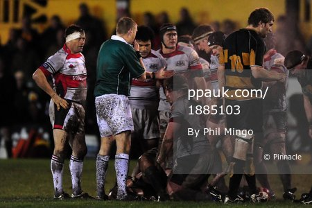 Newport v Plymouth Albion 271109