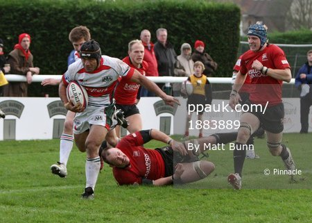 London Welsh V Plymouth Albion 141109