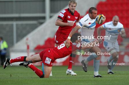 Llanelli Scarlets v Exeter Chiefs 270810