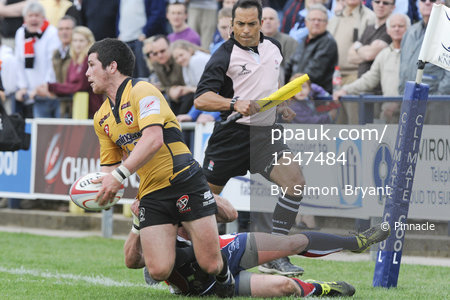 Doncaster v Cornish Pirates 160411