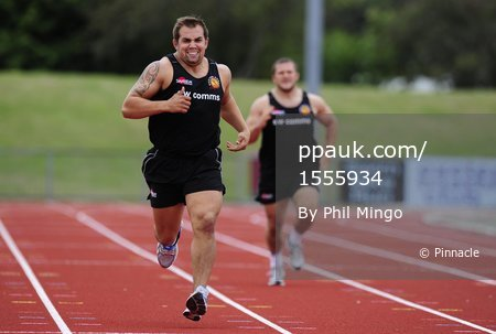 Exeter Chiefs Training 010811