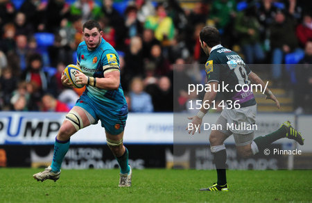London Irish v Exeter Chiefs 271211