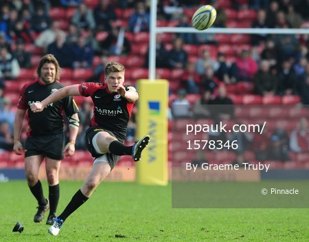 Saracens v Newcastle Falcons 270311