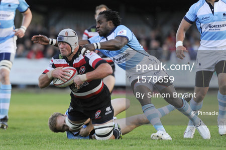 Cornish Pirates v Worcester 110511