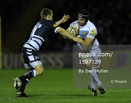 Sale Sharks v Exeter Chiefs 251111