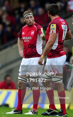 London Welsh v Gloucester 300912