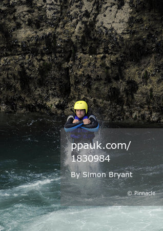 Cornish Pirates Coasteering 260513