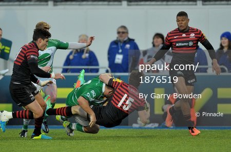 Saracens v Newcastle Falcons 260114