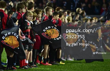 Exeter Chiefs v Saracens 291114