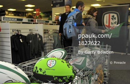 London Irish v Northampton Saints 261215