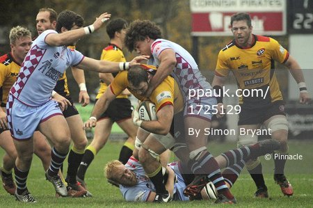 Rotherham Titans v Cornish Pirates 291016