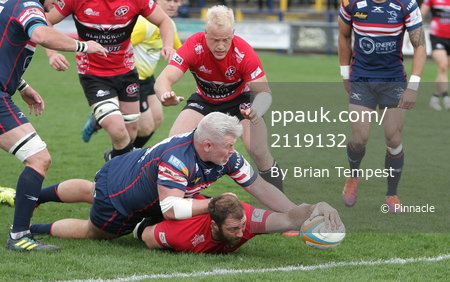 Doncaster Knights v Cornish Pirates, Doncaster, UK - 27 Apr 2019