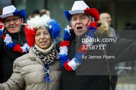 England V France, London, UK - 10 Feb 2019.