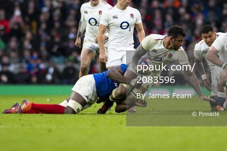 England V France, London, UK - 10 Feb 2019.