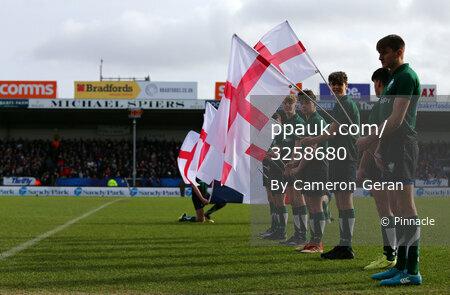 England Under 20s v France Under 20s, Exeter, UK - 9 Feb 2019