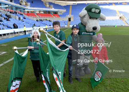 London Irish v Coventry Rugby, Reading, UK - 03 Feb 2019