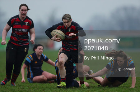 Cullompton Ladies RFC v Teddington Ladies, Cullompton, UK - 6 Jan 2019