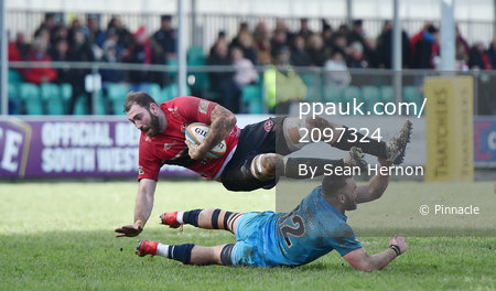 Cornish Pirates v Jersey Reds, Penzance, UK - 10 Mar 2019