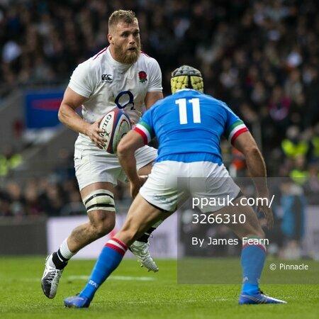 England V Italy, London, UK - 9 Mar 2019.