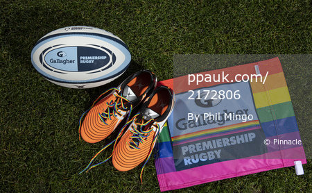 Rainbow Laces referee's, London, UK - 11 Nov 2019