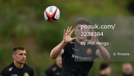 Exeter Chiefs Training Session, Exeter, UK - 9 July 2020