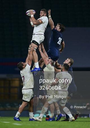 England v Georgia, Twickenham, UK - 14 Nov 2020