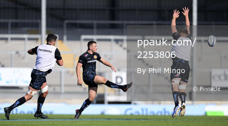 Exeter Chiefs Training Session, Exeter, UK - 14 Oct 2020