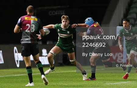London Irish v Harlequins, London, UK - 09 Sep 2020